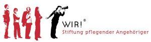 Logo WIR! Stiftung pflegender Angehöriger