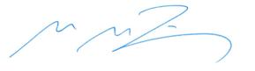 Unterschrift des Patienten- und Pflegebeauftragten Dr. Peter Bauer