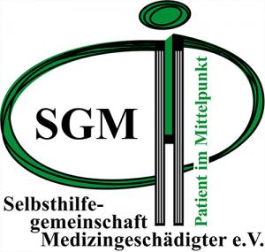 Logo Die Selbsthilfegemeinschaft Medizingeschädigter - Patient im Mittelpunkt - e.V.