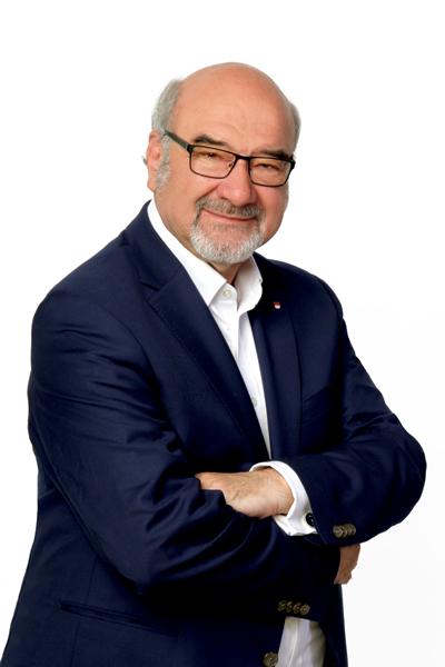 Portraitfoto des Patienten- und Pflegebeauftragen Prof. Dr. Peter Bauer