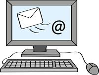 E-Mail am Computer schreiben